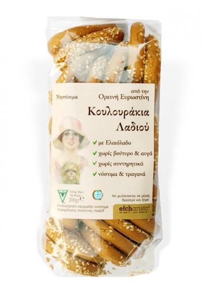 Koulourakia mit Olivenöl
